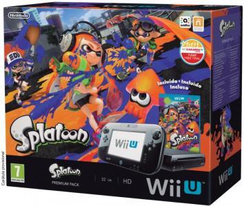 Nintendo Wii U Pack Splatoon