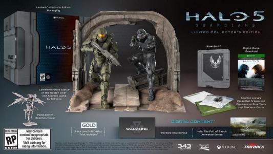 Halo 5: Guardians Collectors Edition