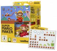 Mario Maker Artbook + Amiibo - Wii U