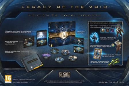 Starcraft 2: Legacy of the Void Collectors Edition