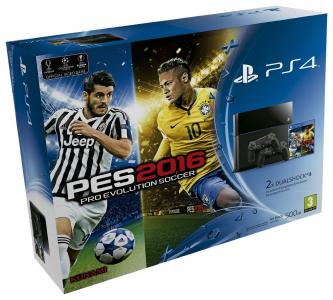 Consola Playstation 4 Ps4 Pack Pro Evolution Soccer 2016 2