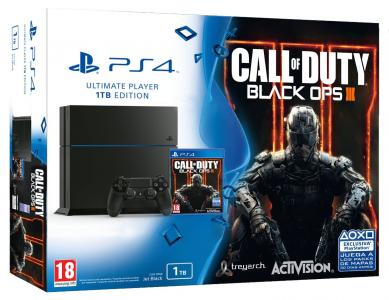 Consola Playstation 4 Ps4 Pack Call Of Duty Black Ops Iii Para