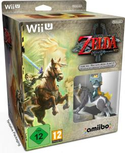 Legend Of Zelda: Twilight Princess Edición limitada con amiibo