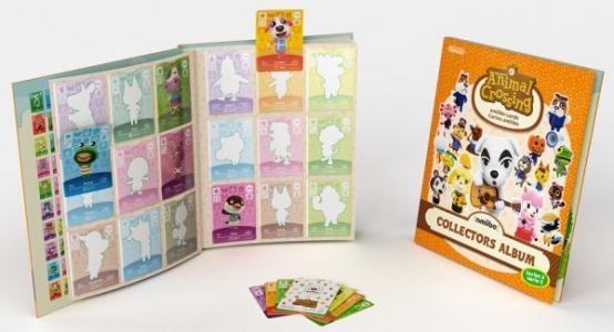 Pack 3 Tarjetas Amiibo Animal Crossing Serie 2 + Album