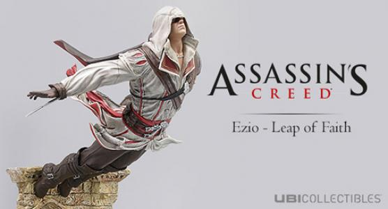 Figura Assassin's Creed Ezio Salto de Fe