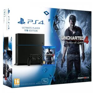 Consola Playstation 4 (PS4) Pack Uncharted 4