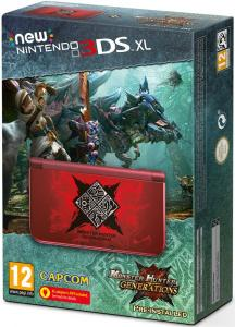 New Nintendo 3DS XL Edición Limitada Monster Hunter Generations