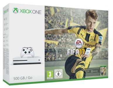 Consola Xbox One S 500GB + FIFA 17