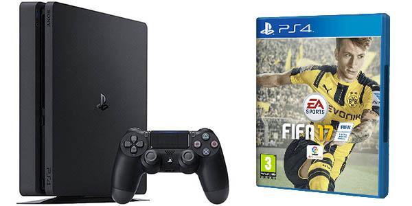 Consola Playstation 4 (PS4) Slim 1TB Pack FIFA 17