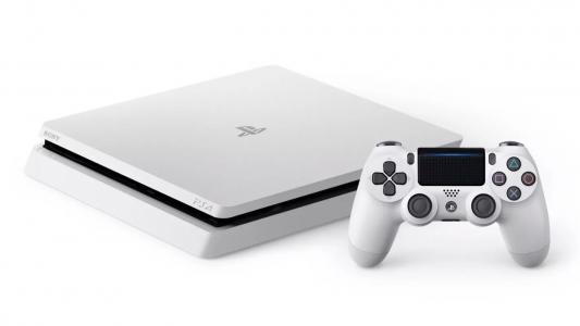 Consola Playstation 4 (PS4) Slim 500GB Blanco Glaciar