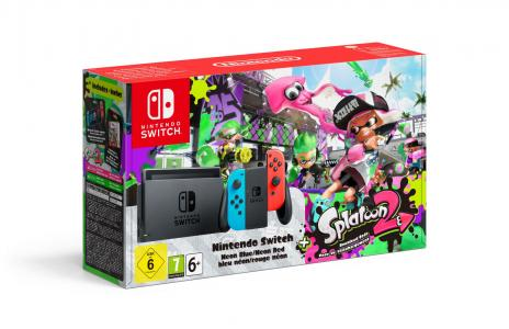 Consola Nintendo Switch Pack Splatoon 2