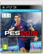 PES - Pro Evolution Soccer 2018 Premium Edition - PlayStation 3