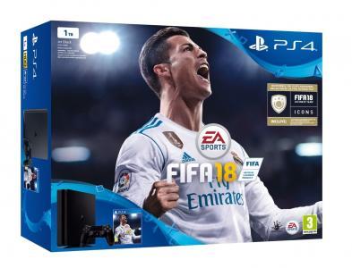 Consola Playstation 4 (PS4) Slim 1TB Pack FIFA 18