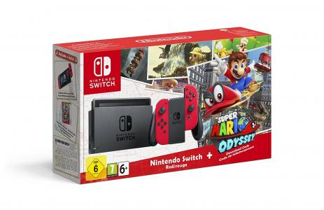 Consola Nintendo Switch Pack Mario Odyssey Para Nintendo Switch