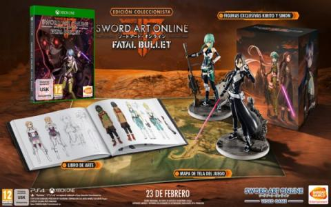 Sword Art Online: Fatal Bullet Collectors Edition
