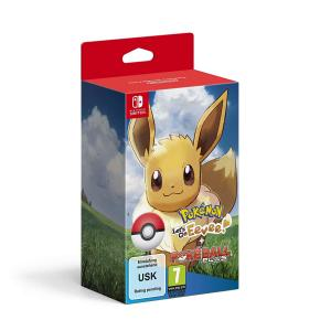 Pokemon: Let's Go, Eevee! Con Poké Ball Plus
