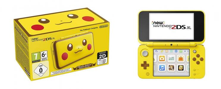 Nintendo New 2DS XL Edición Pikachu