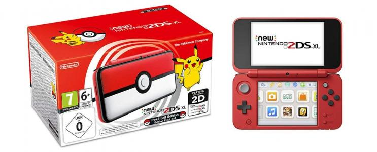 Nintendo New 2DS XL Edición Pokeball