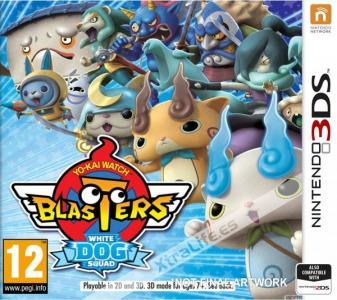 Yo-Kai Watch Blasters: Escuadrón Del Perro Blanco