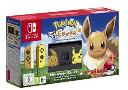 Consola Nintendo Switch Let's Go Eevee Bundle (Ed. Limitada)