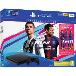 Consola Playstation 4 (PS4) Slim 1TB Pack FIFA 19 Champions