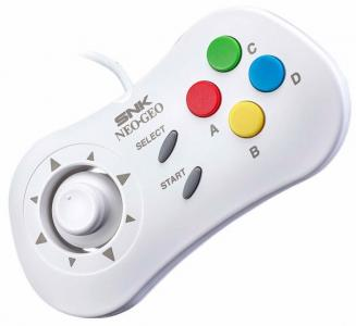 Gamepad Neo Geo Mini Blanco
