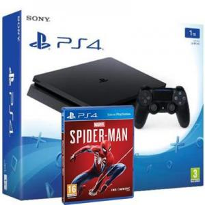 Consola Playstation 4 (PS4) Slim 1TB Pack Marvel's Spider-Man