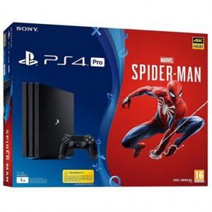 Consola Playstation 4 Pro Ps4 Pro 1tb Pack Marvel S Spider Man