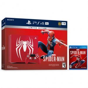 Consola Playstation 4 PRO (PS4) PRO 1TB Pack Edición Especial Marvel's Spider-Man