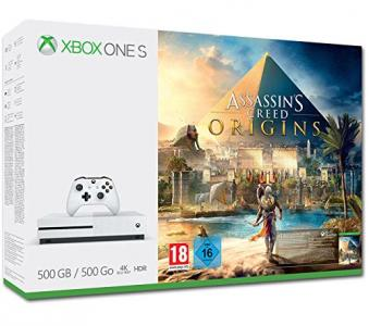 Consola Xbox One S 500GB Pack Assassin's Creed Origins