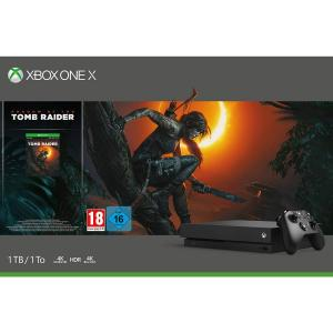 Consola Xbox One X 1TB Pack Shadow Of The Tomb Raider