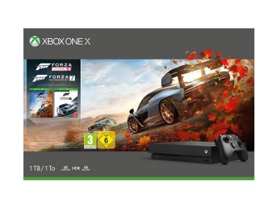 Consola Xbox One X 1TB Pack Forza Horizon 4 y Forza Motorsport 7