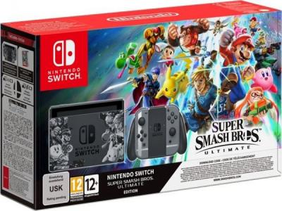 Consola Nintendo Switch Edición Super Smash Bros. 2 Ultimate