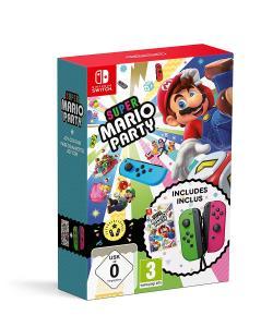 Super Mario Party Pack con Joy-Con Verde / Rosa