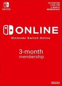 Nintendo Switch Online Suscripción 3 meses