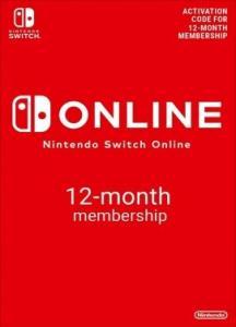 Nintendo Switch Online Suscripción 12 meses