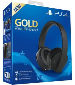Sony Wireless Headset Gold