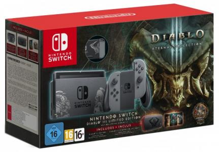 Consola Nintendo Switch Pack Diablo