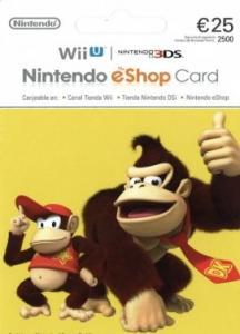 Tarjeta Nintendo eShop 25€ Europa