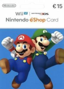 Tarjeta Nintendo eShop 15€ Europa