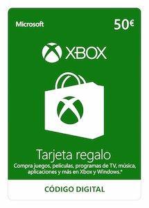 Tarjeta XBOX Live Saldo 50E