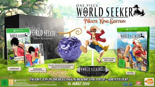 One Piece World Seeker The Pirate King Edition