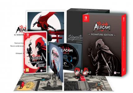 Aragami: Shadow Edition Signature Editon