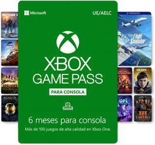 Xbox Game Pass Suscripción 6 meses