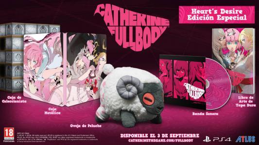 Catherine Full Body Heart's Desire Premium Edition