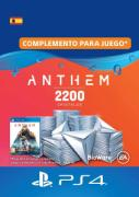 Anthem 2200 Cristales  - PlayStation 4