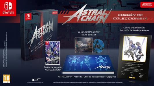 Astral Chain Edición Coleccionista