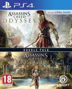 Double Pack: Assassin's Creed Odyssey + Assassin's Creed Origins  - PlayStation 4